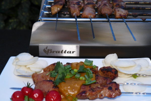 Saté Barbecue Lång